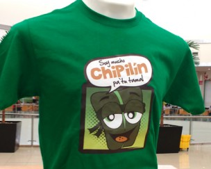 Playera chipilin varon